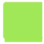 Значок сертификат зеленого цвета